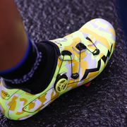 Cycling shoes.