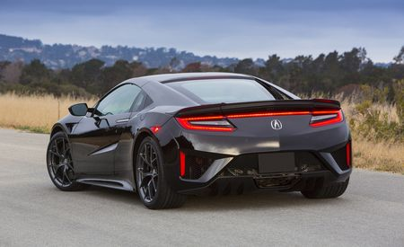 Acura NSX Recalled for Fuel-Tank and Brake-Light Problems