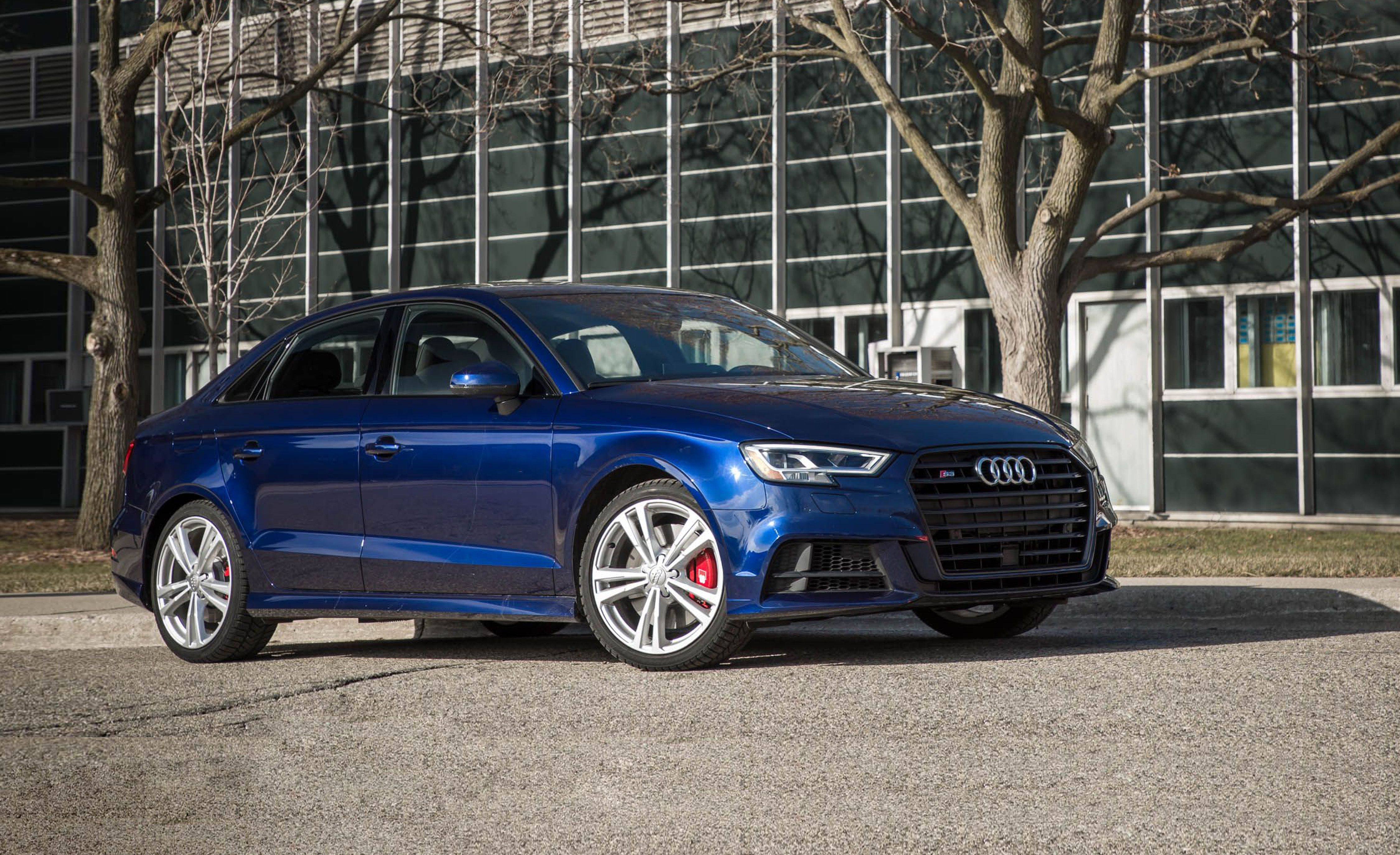 2019 audi s3 reviews audi s3 price photos and specs car and driver. Black Bedroom Furniture Sets. Home Design Ideas