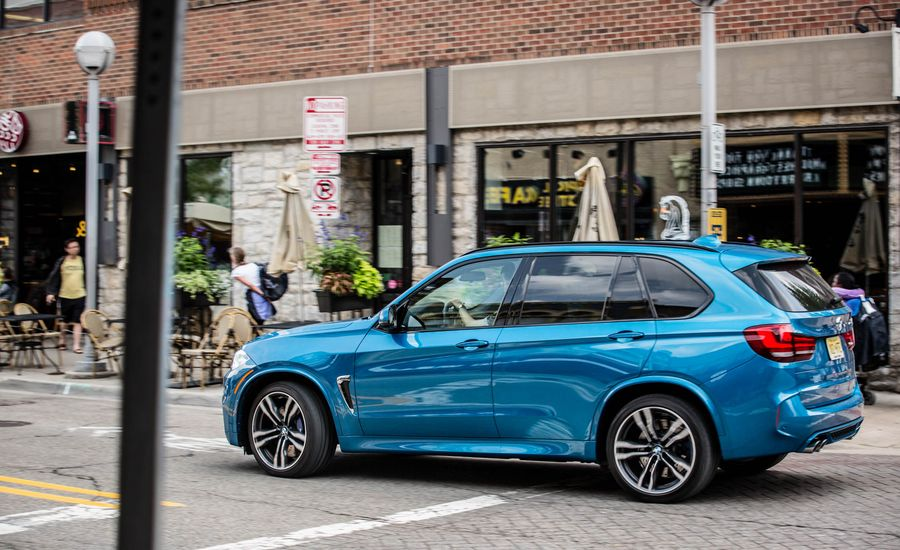 2018 bmw x5 m video review car and driver. Black Bedroom Furniture Sets. Home Design Ideas