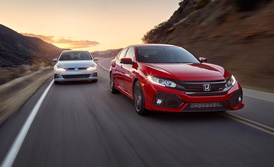2017 Honda Civic Si vs. 2018 Volkswagen Golf GTI