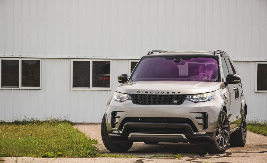 2017 Land Rover Discovery HSE Td6 - Slide 55