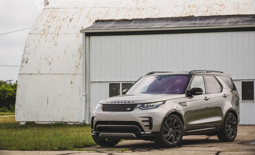 2017 Land Rover Discovery HSE Td6 - Slide 57