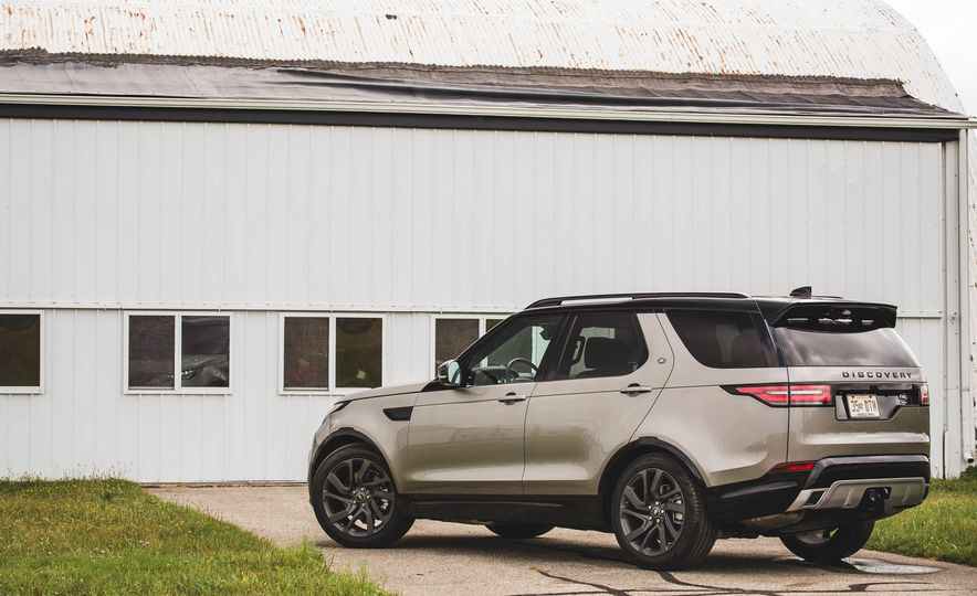 2017 Land Rover Discovery HSE Td6 - Slide 58