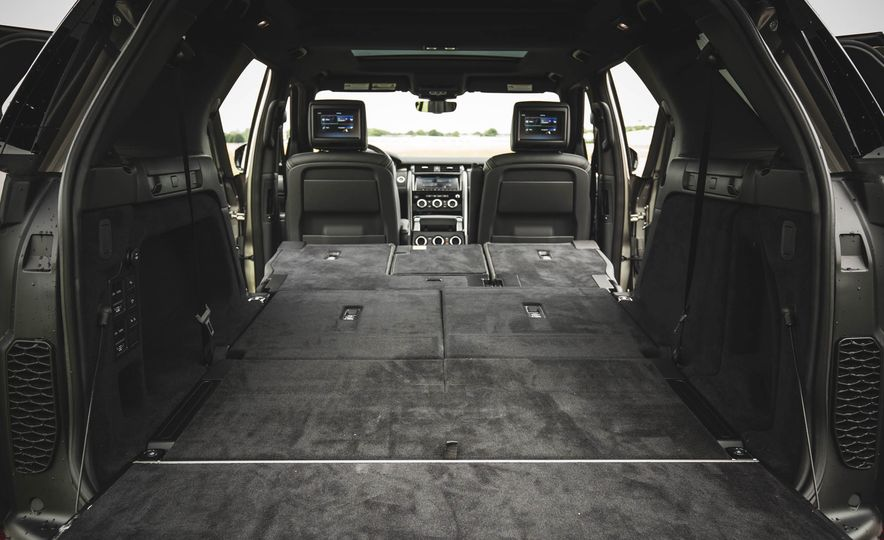 2017 Land Rover Discovery HSE Td6 - Slide 122