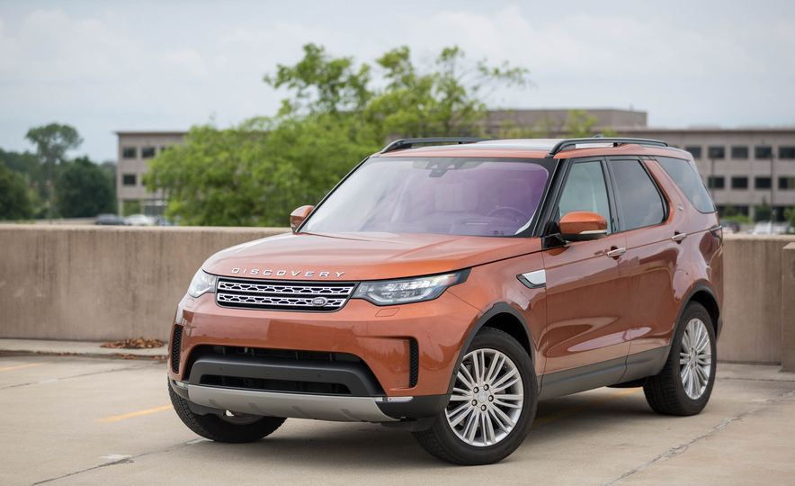 2017 Land Rover Discovery HSE Td6 - Slide 9
