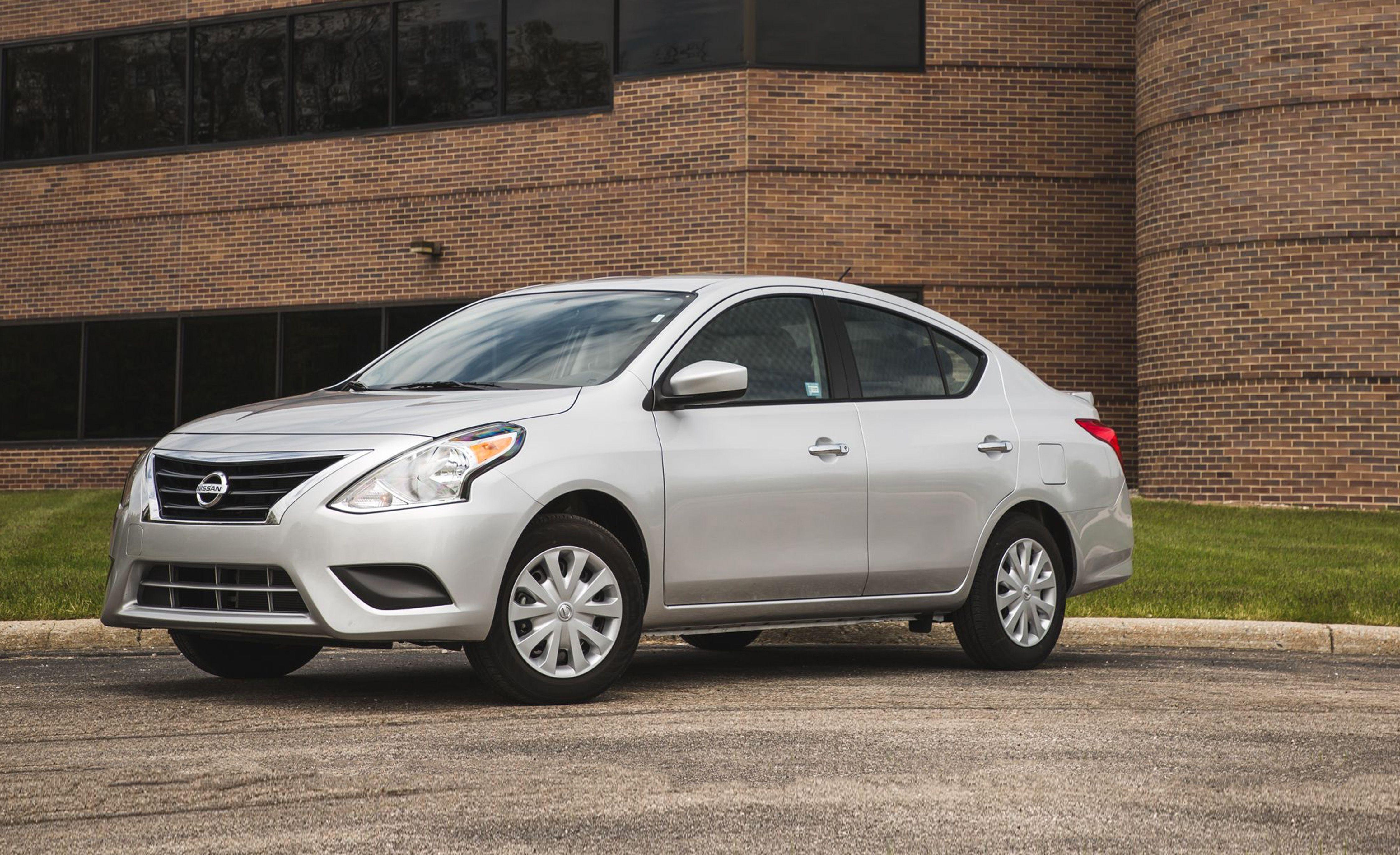 2020 Nissan Versa Reviews Price Photos And Specs Car Driver