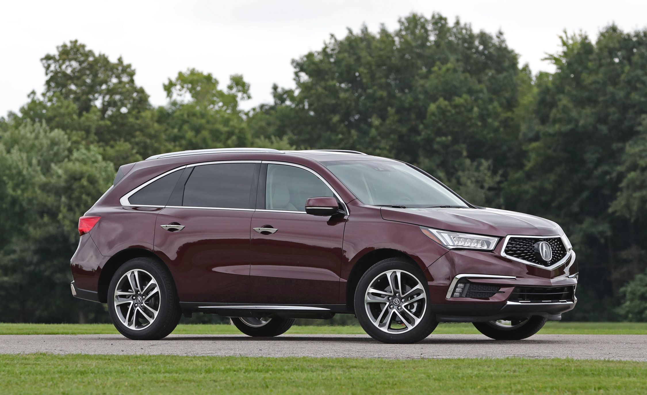 2018 Acura Mdx Exterior Design And Dimensions Review Car And Driver