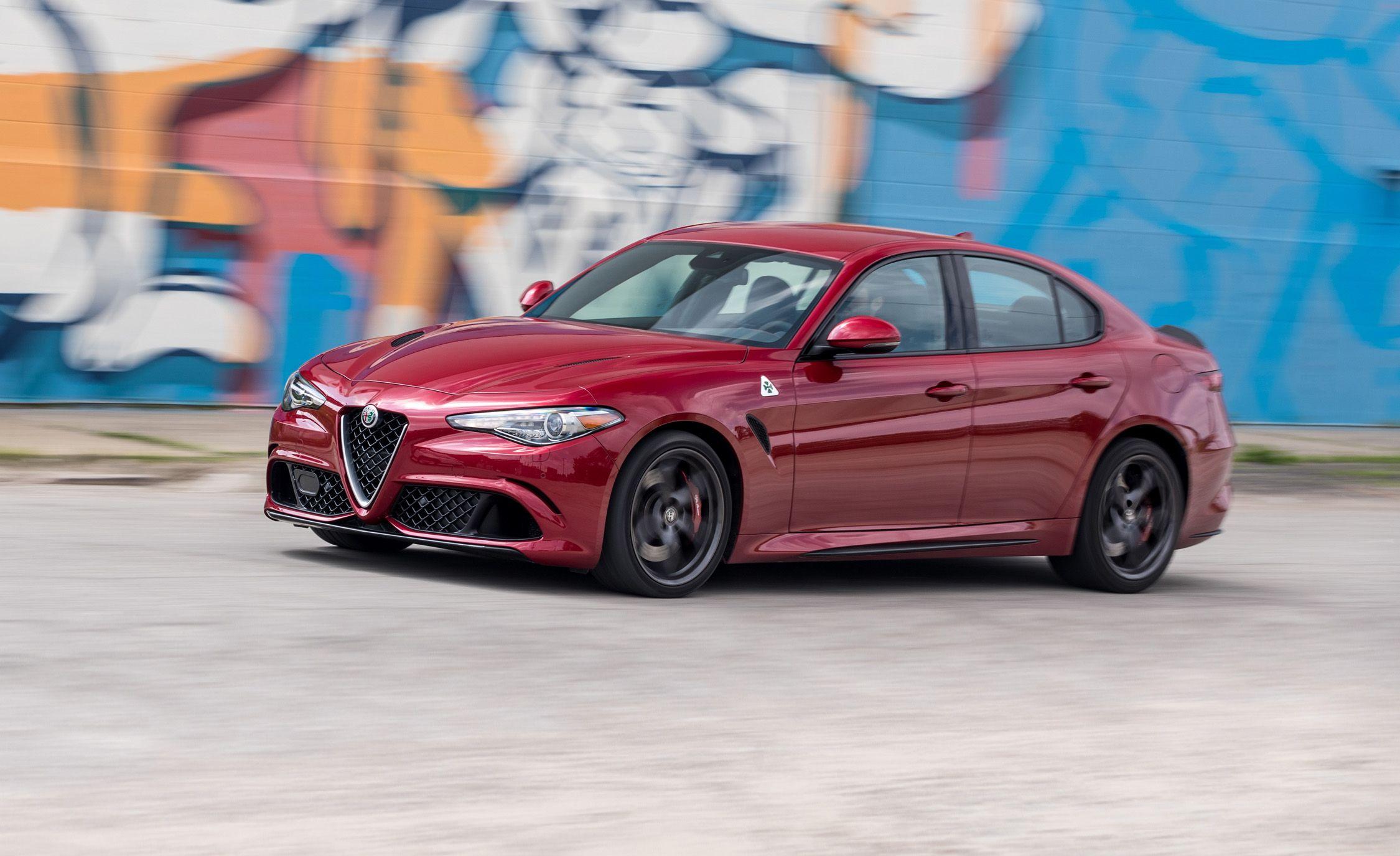 2017 Alfa Romeo Giulia Quadrifoglio First Drive Review Car And