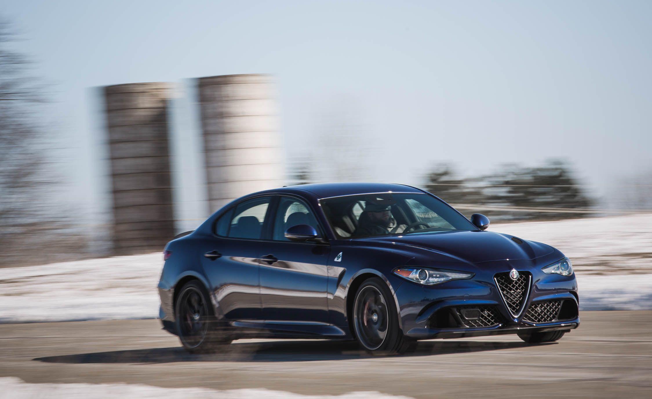 Alfa Romeo Giulia Quadrifoglio Reviews