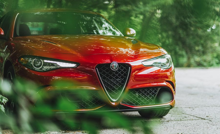 Our Alfa Romeo Giulia Quadrifoglio at 10,000 Miles Has Spent a Month in the Shop