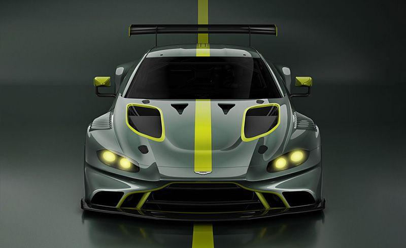 Race Ready: Aston Martin Flashes Upcoming Vantage GT3