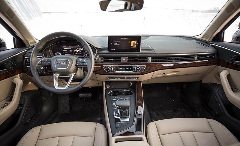 2018 audi a4 interior best new cars for 2018. Black Bedroom Furniture Sets. Home Design Ideas