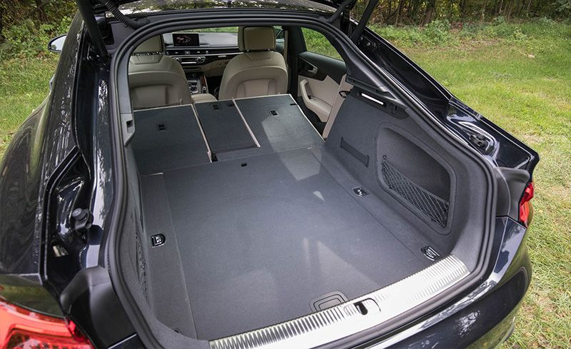 Audi a5 sportback trunk