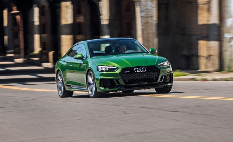 The 2018 Audi RS5 Coupe Loses Its V-8 Engine but Gets Much Quicker