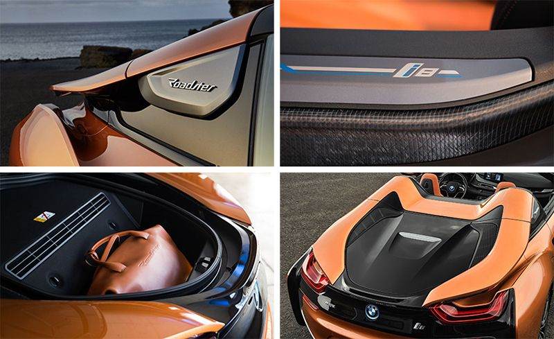 2019 Bmw I8 Roadster First Drive Cloth Roof No Back Seat More