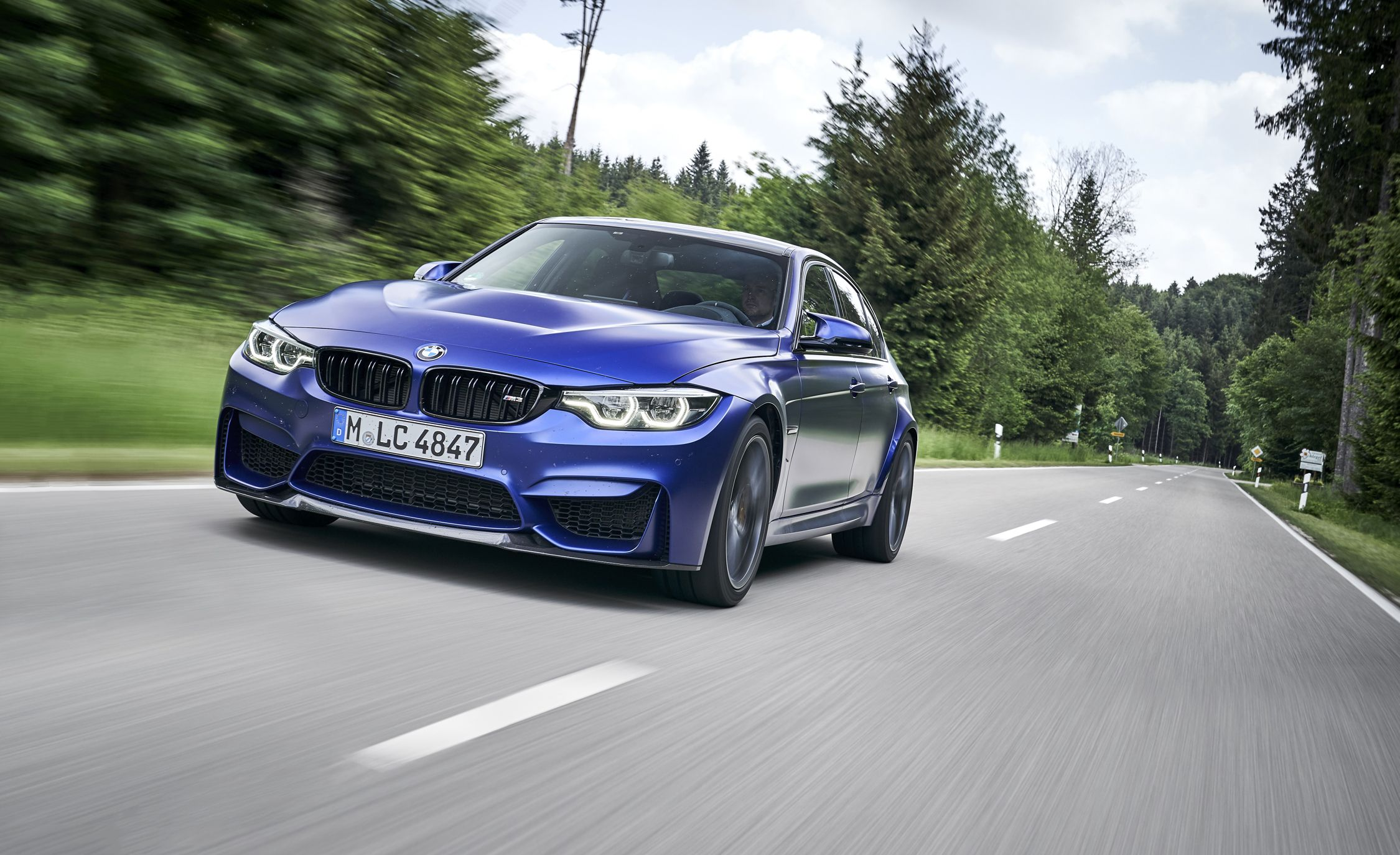 First Drive Of The Bmw M3 Cs The Best One Yet Review Car And Driver