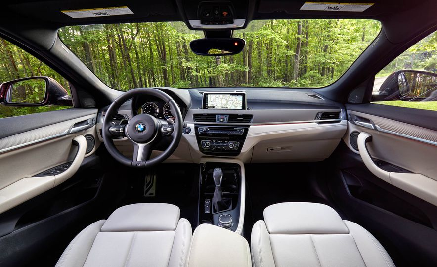 2019 Volvo XC40 T5 AWD, 2018 BMW X2 xDrive28i, and 2018 Jaguar E-Pace P250 AWD - Slide 6