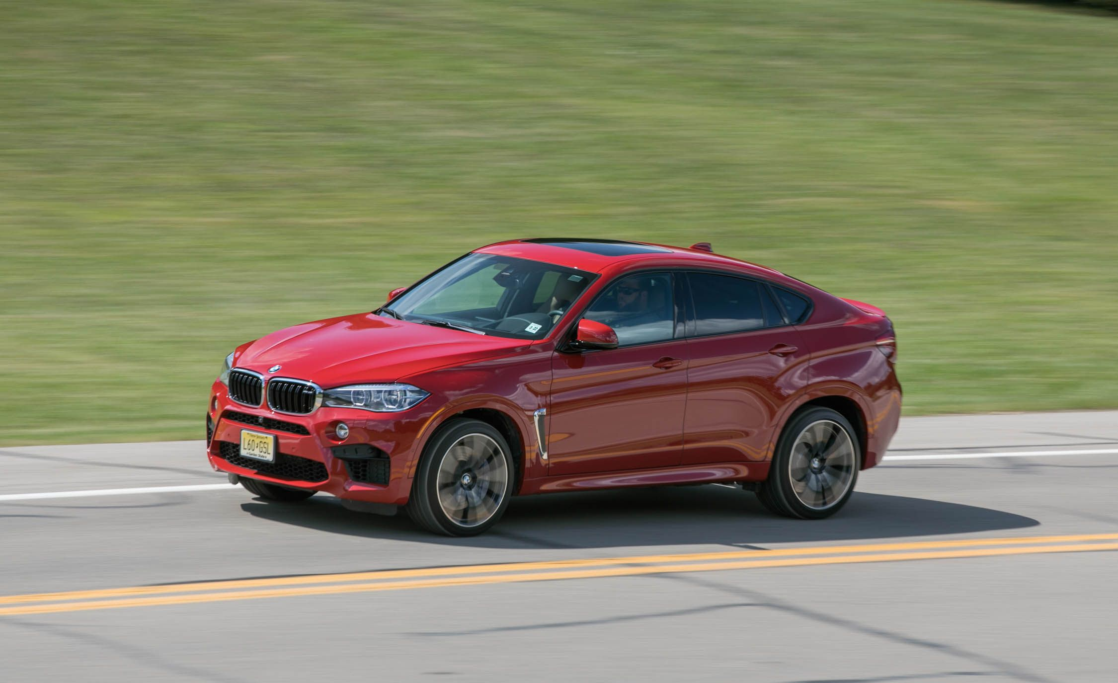2018 Bmw X6 M Safety And Driver Assistance Review Car And Driver