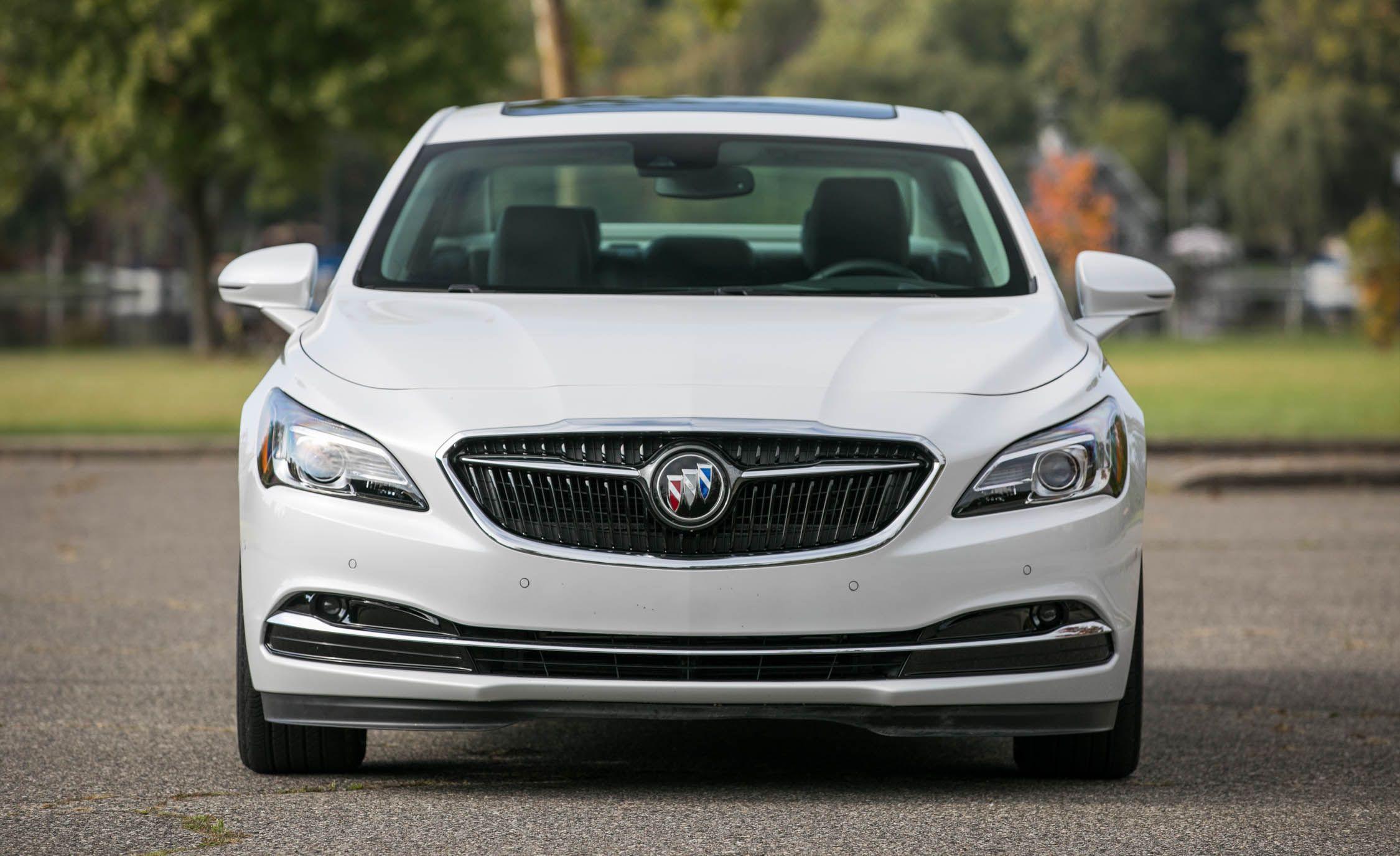 Buick LaCrosse: Infotainment System Menus