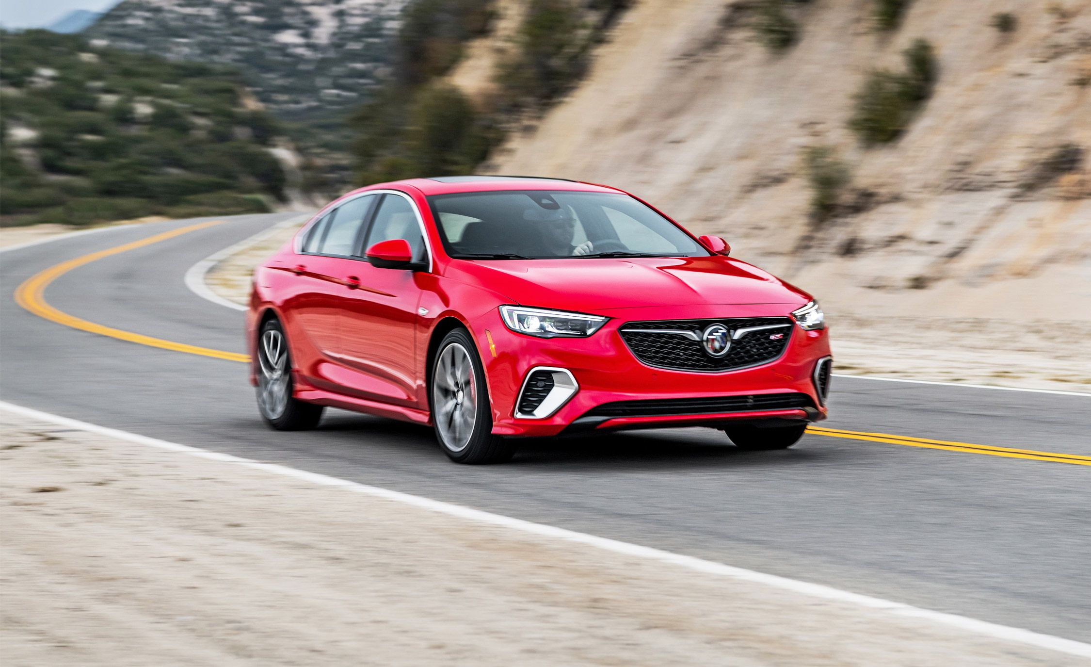 2018 Buick Regal Gs Test Well Executed But Not Particularly Sporty Review Car And Driver