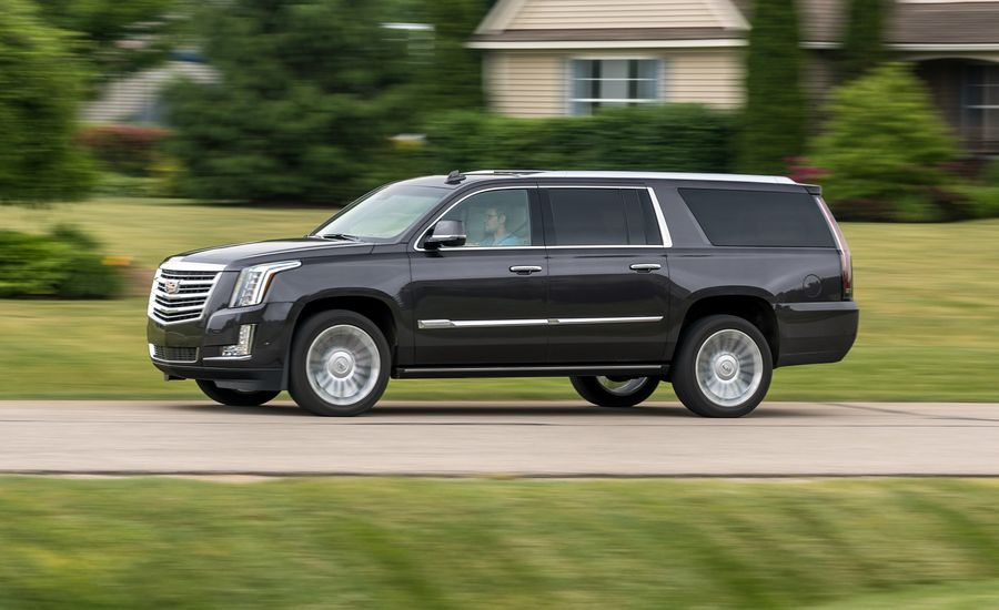 2018 Cadillac Escalade In Depth Model Review Car And Driver