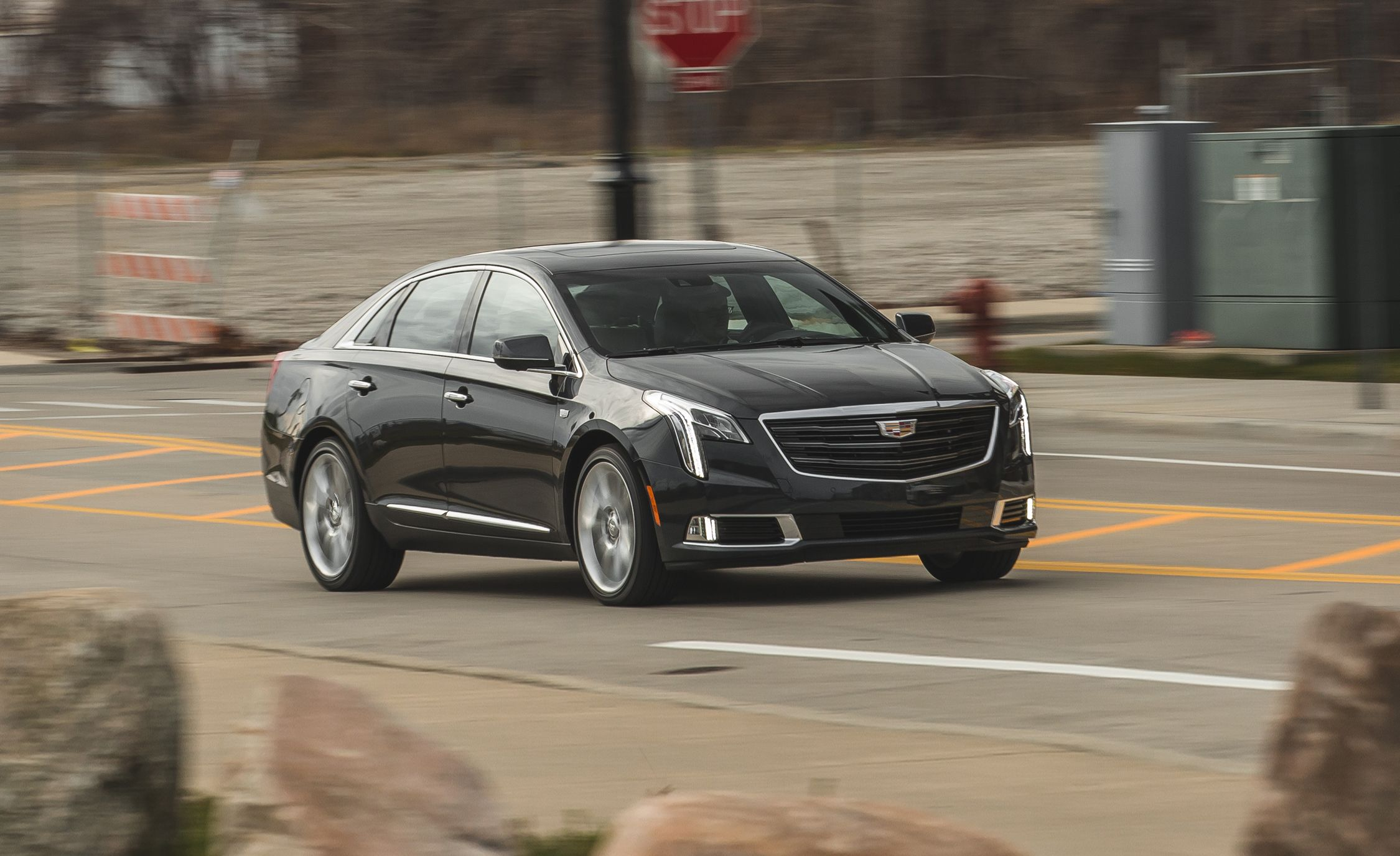2018 Cadillac Xts V Sport Test Review Car And Driver