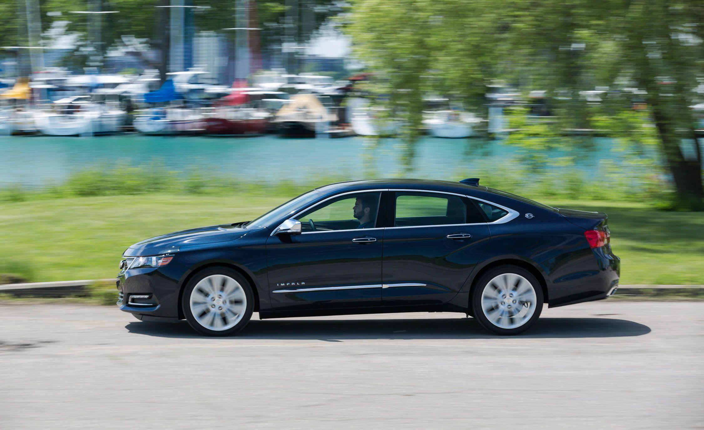 Chevy Impala 2018 Ltz >> 2018 Chevrolet Impala V 6 Tested Why Does It Remind Us Of 1961