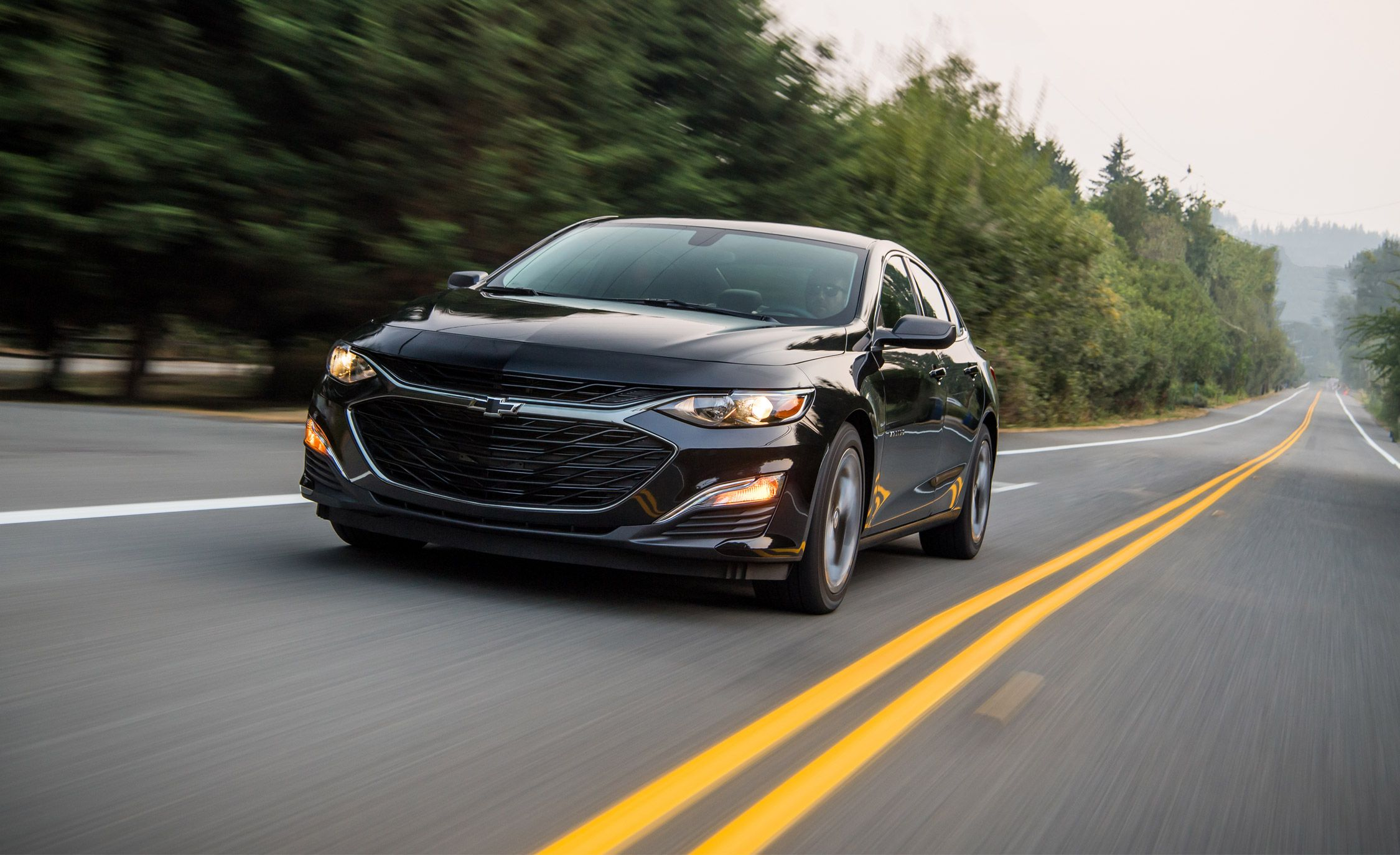 2019 Chevrolet Malibu With New Cvt Driven