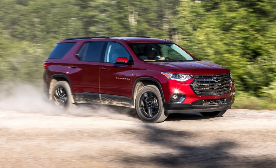 2018 Chevrolet Traverse Compared