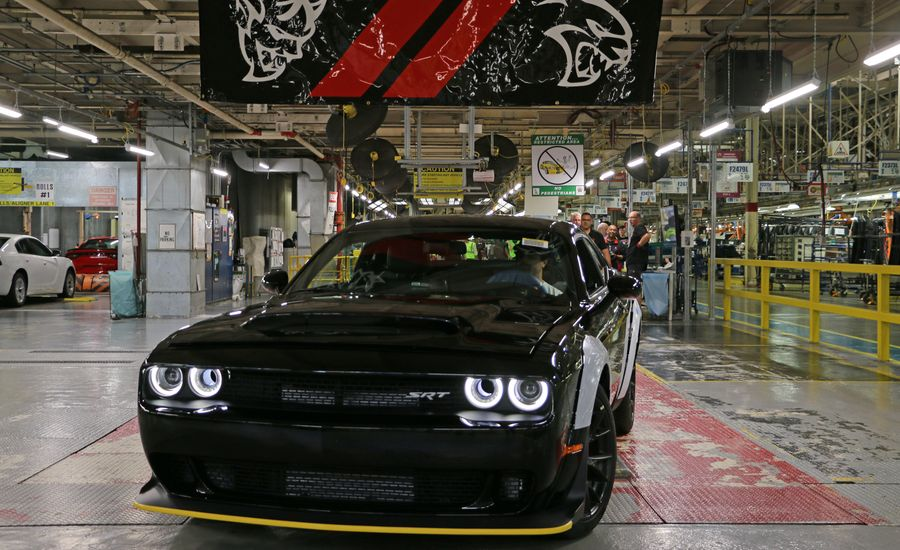 Final Dodge Challenger SRT Demon Built in Preparation for Historic Auction
