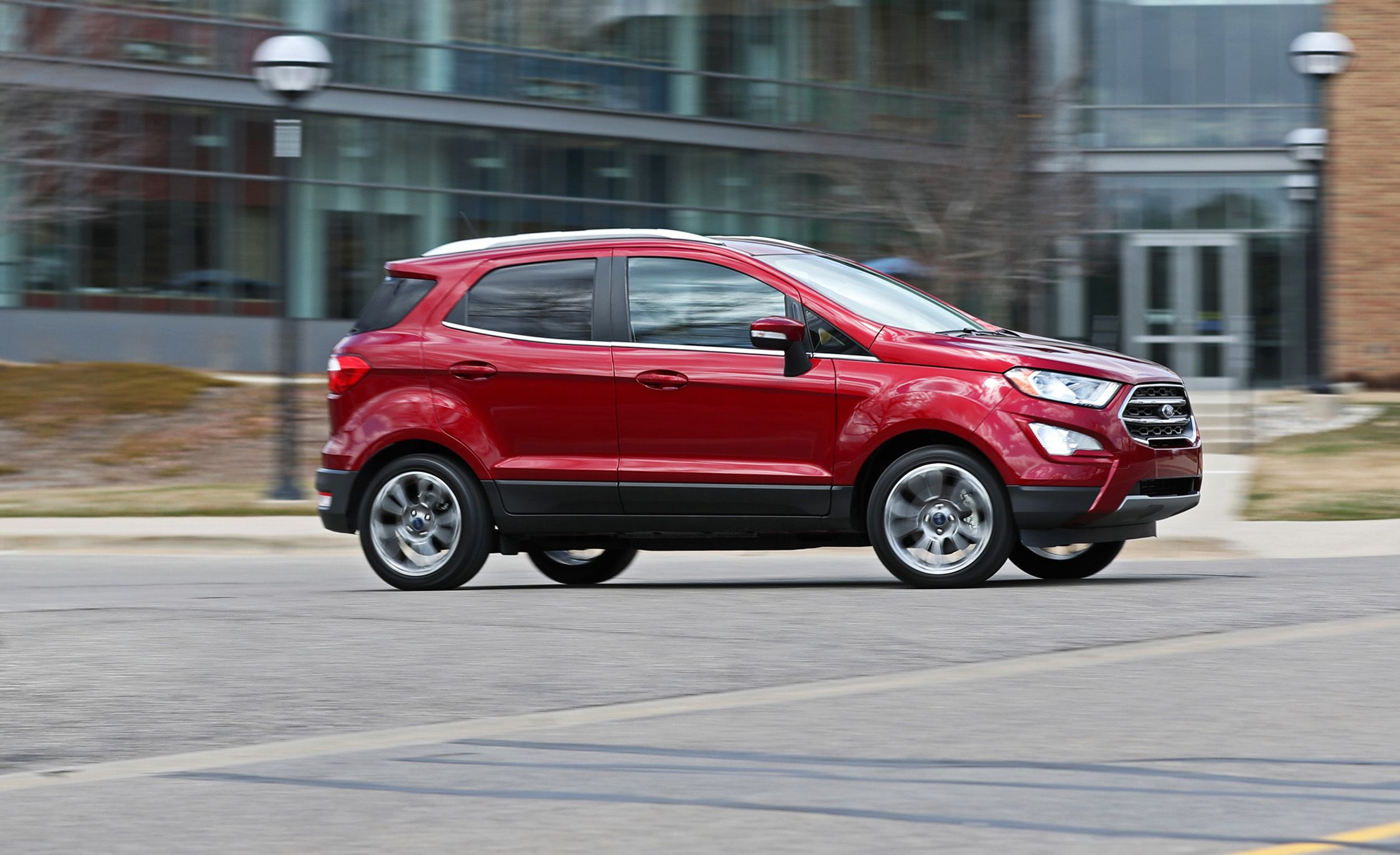 2018 Ford Ecosport In Depth Model Review Car And Driver