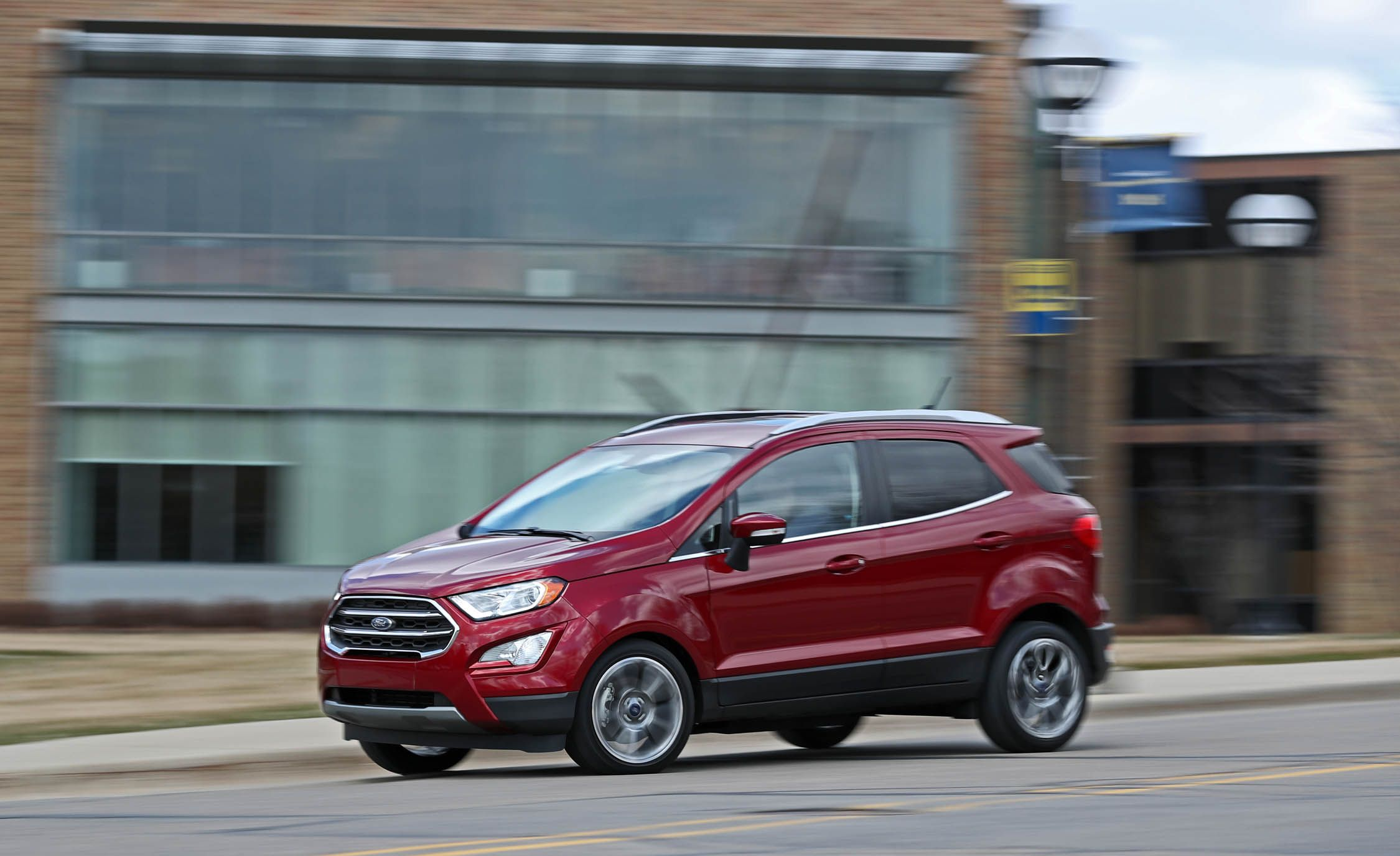 2018 ford ecosport sync 3 audio and infotainment review car and driver