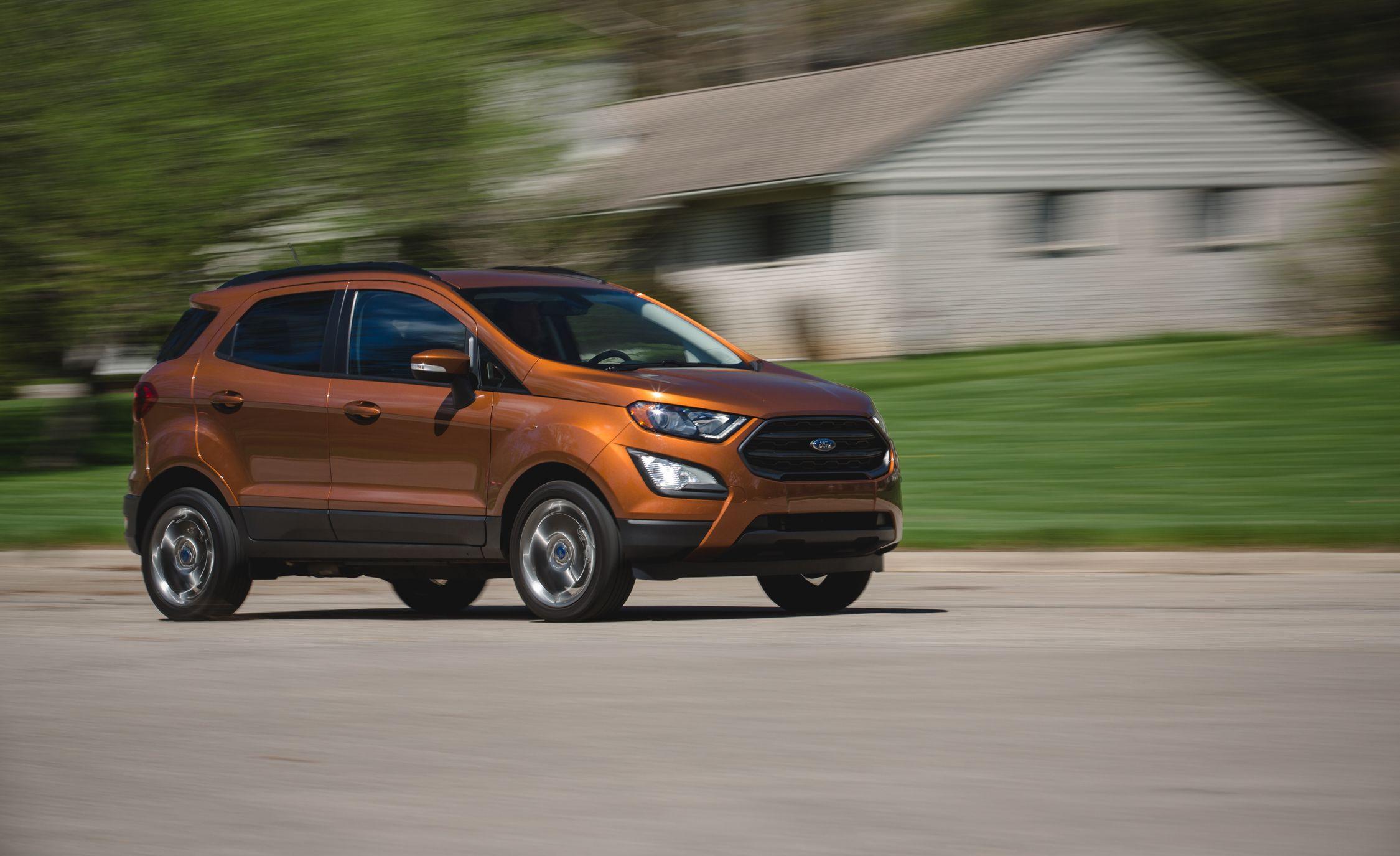 2018 Ford Ecosport 2 0l Awd