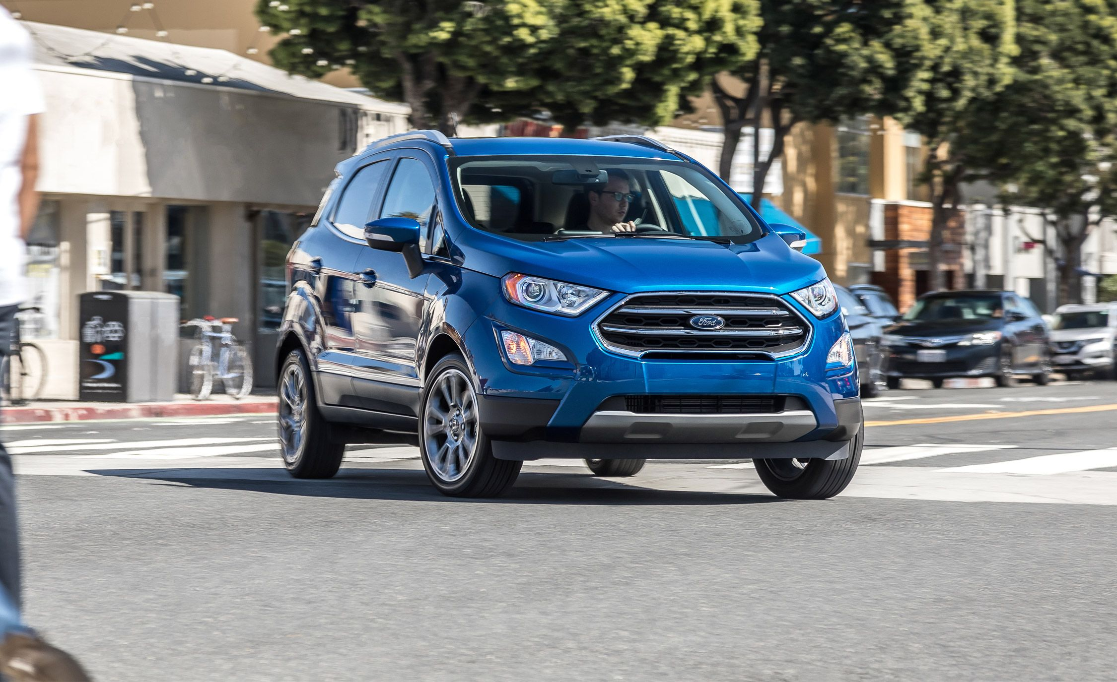 2018 ford ecosport titanium 1 0l test review car and driver