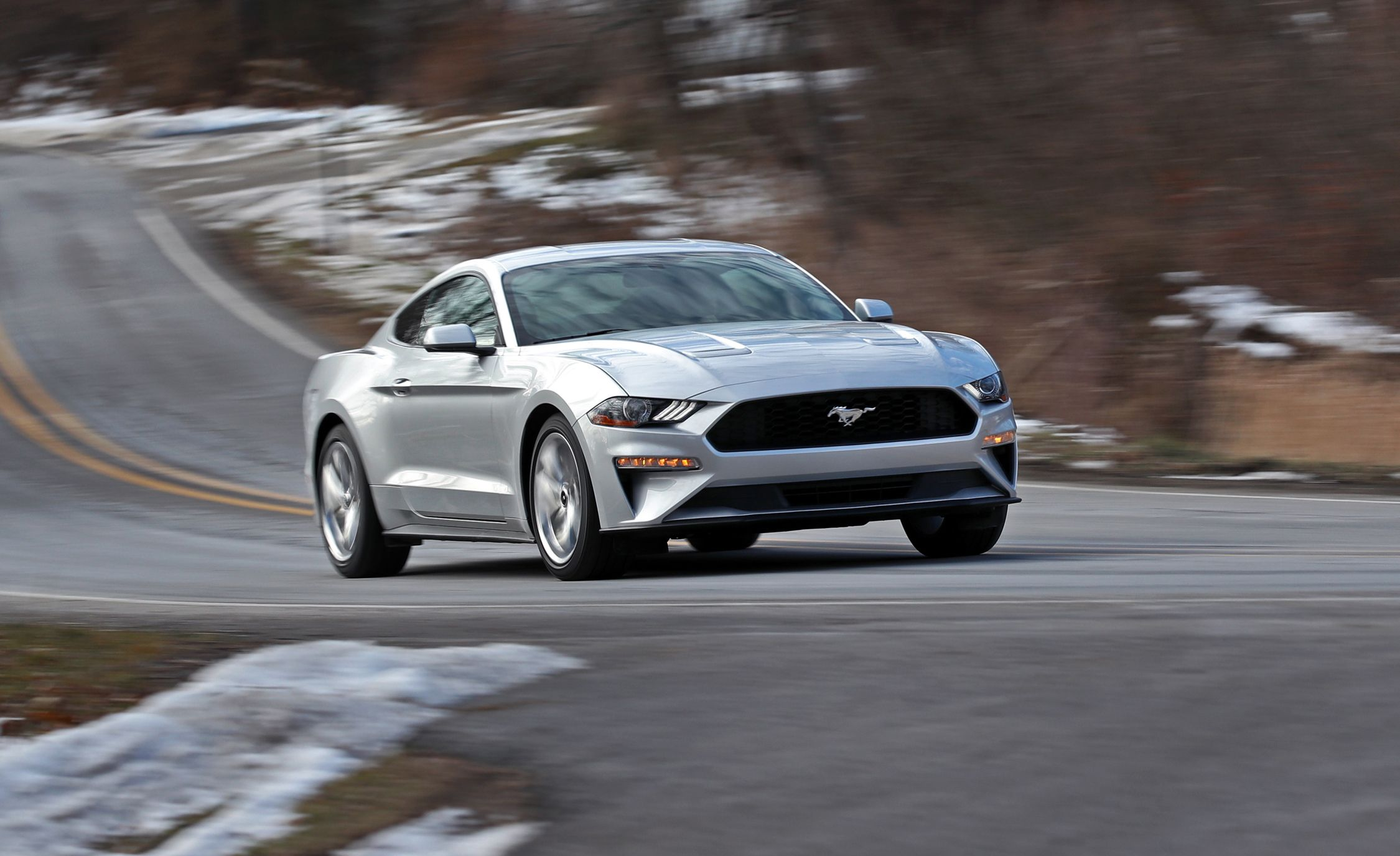 2018 ford mustang 2 3l ecoboost manual test does more torque help rh caranddriver com Top Affordable Turbo Cars 300ZX Twin Turbo Engine