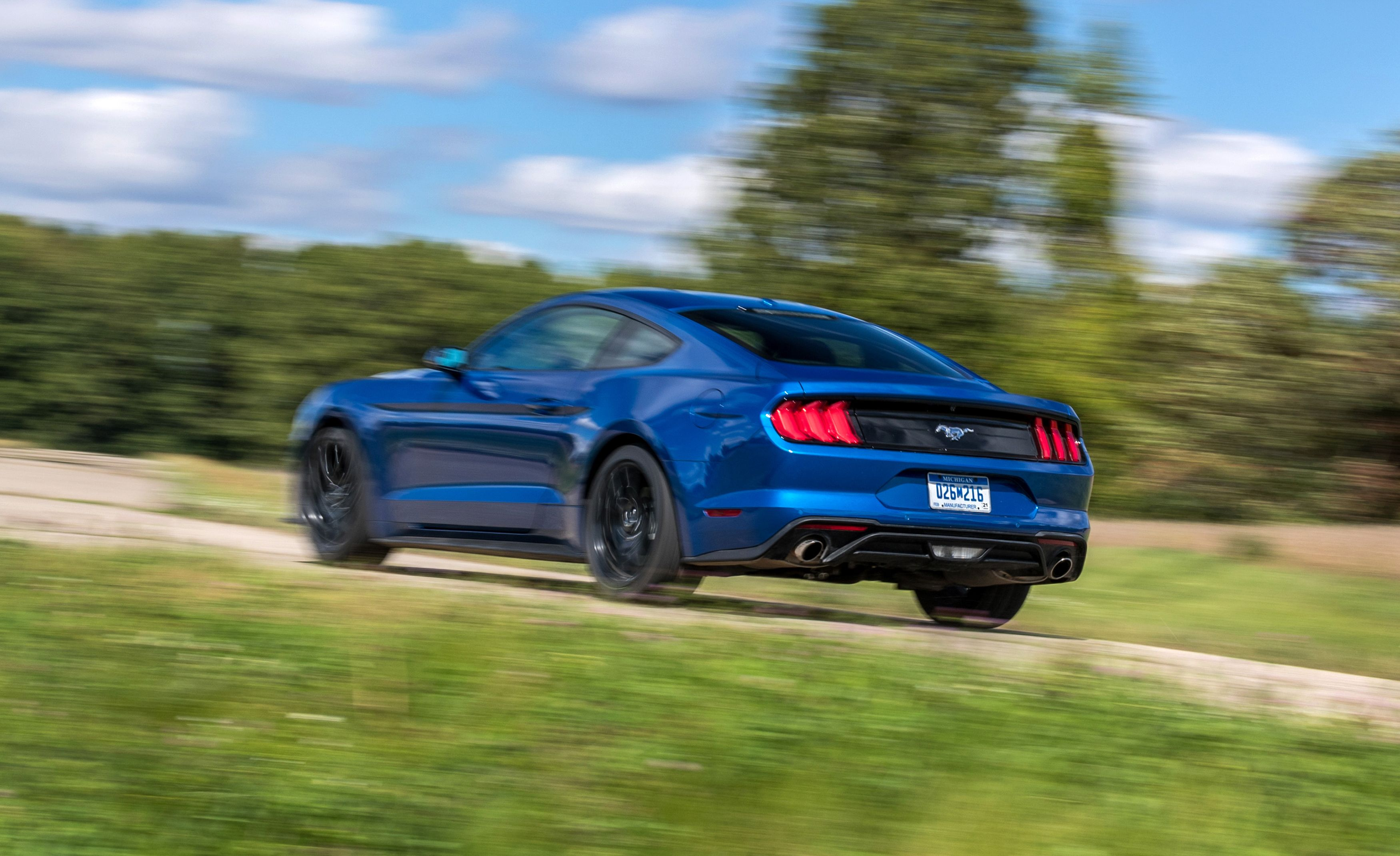 The 2018 Ford Mustang's 10-Speed Automatic Makes It a Quicker Pony