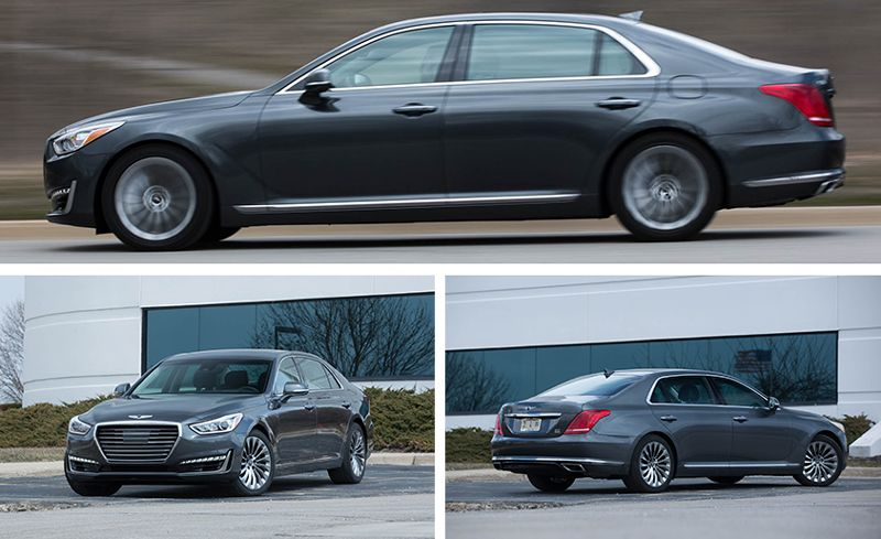 Most Of The Traditional Elements Rolling Hedonism Are Baked Into This Sedan For 2018 Genesis Enhances Content