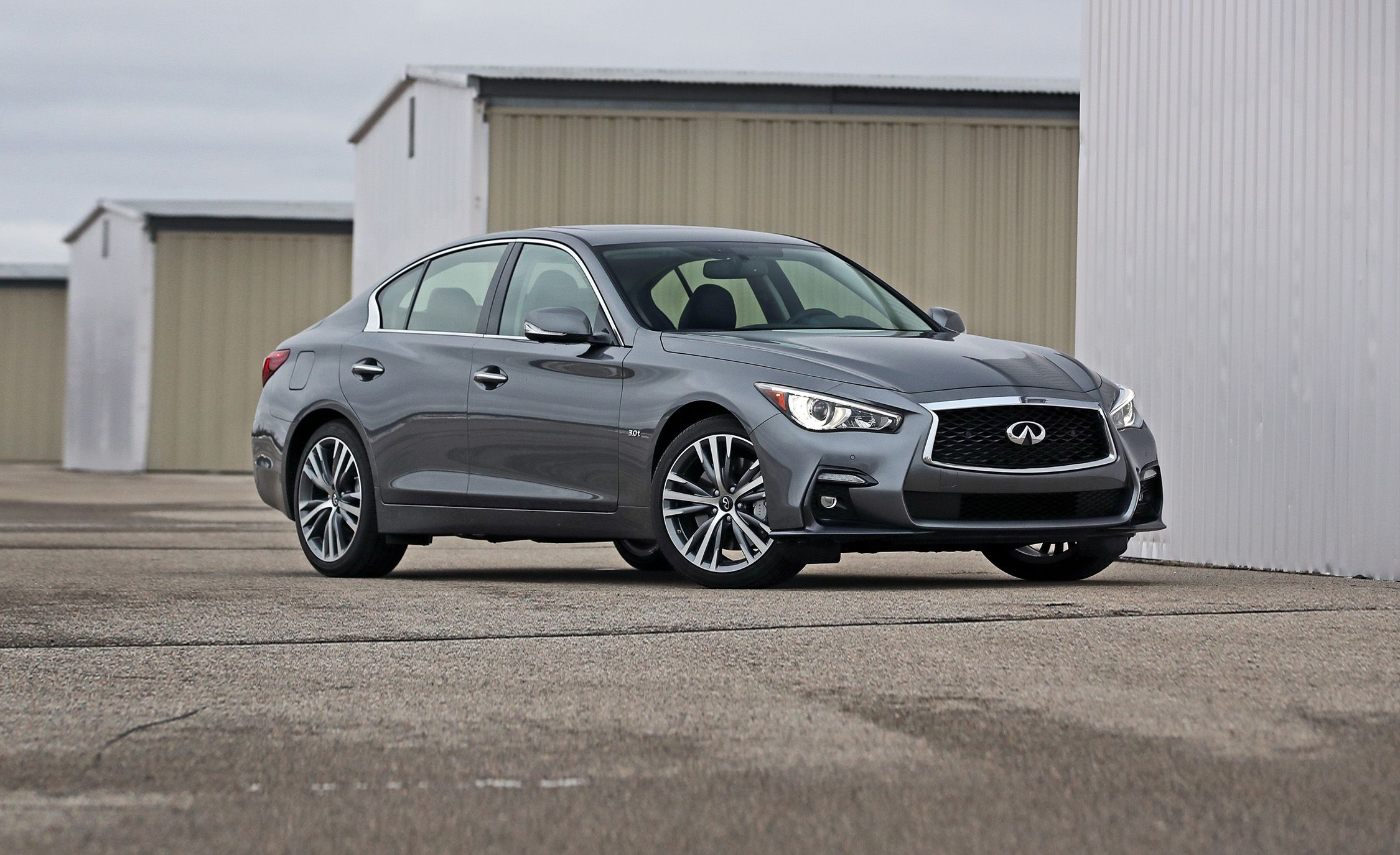 2018 Infiniti Q50 In Depth Model Review Car And Driver