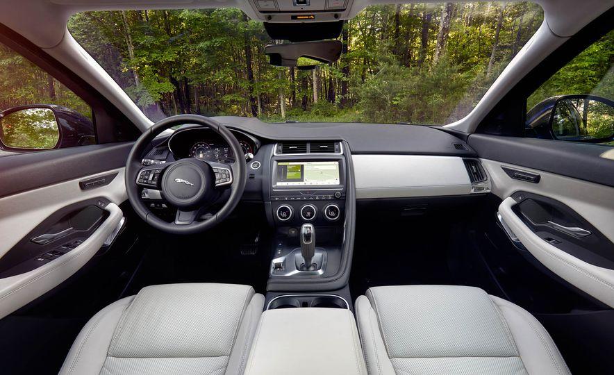 2019 Volvo XC40 T5 AWD, 2018 BMW X2 xDrive28i, and 2018 Jaguar E-Pace P250 AWD - Slide 12