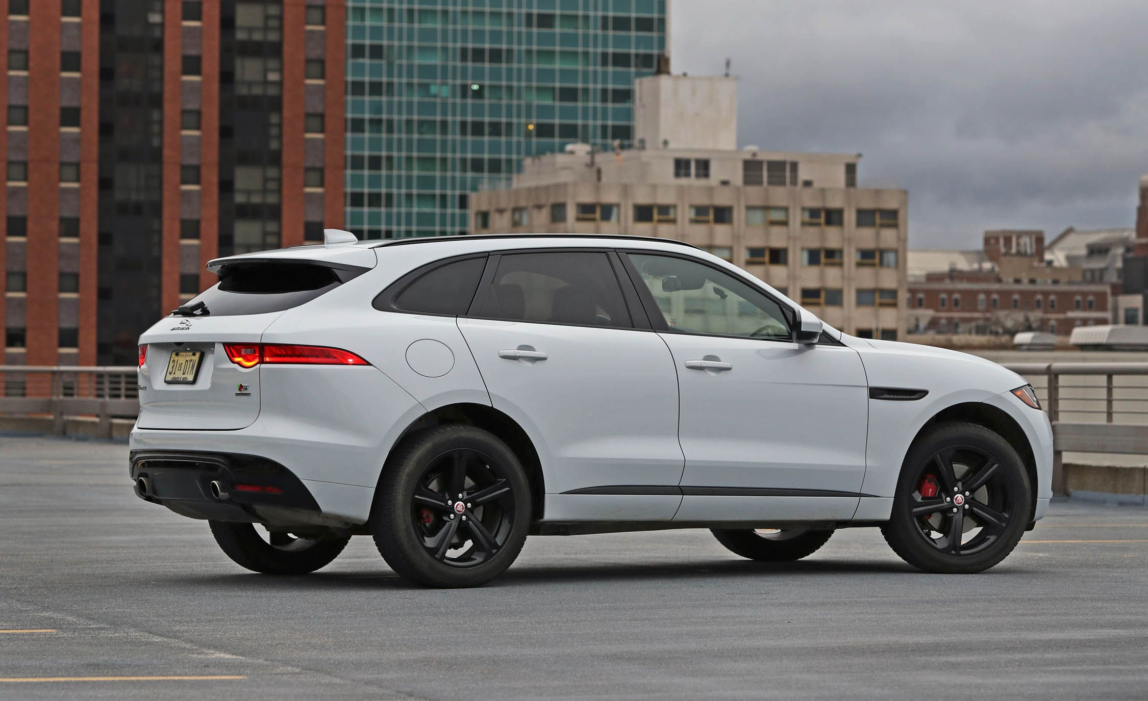 2018 Jaguar F-Pace | Interior and Passenger Space Review ...