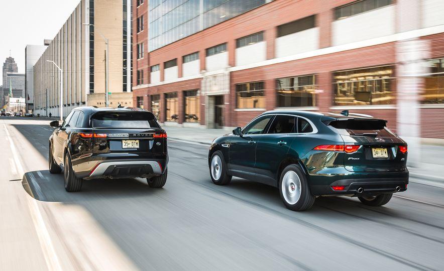 2018 Jaguar F-Pace 30t and 2018 Land Rover Range Rover Velar P250 - Slide 2