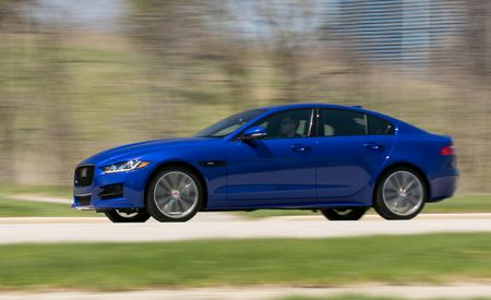 2018 Jaguar XE 25t AWD - Instrumented Test - Gallery