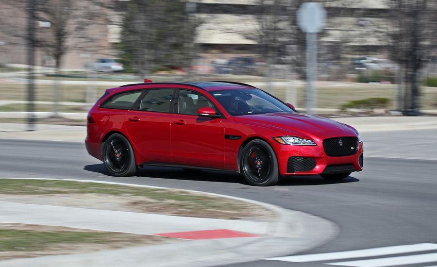 2018 Jaguar Xf Sportbrake In Depth Model Review Car And Driver
