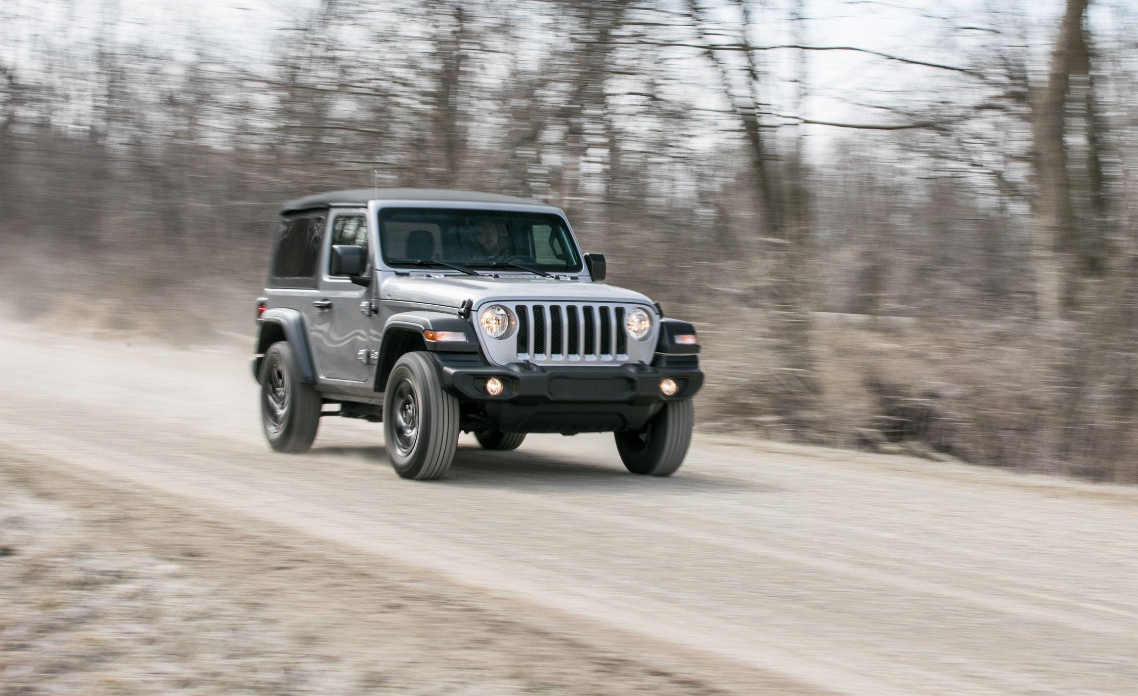 2018 Jeep Wrangler V 6 4x4 Manual