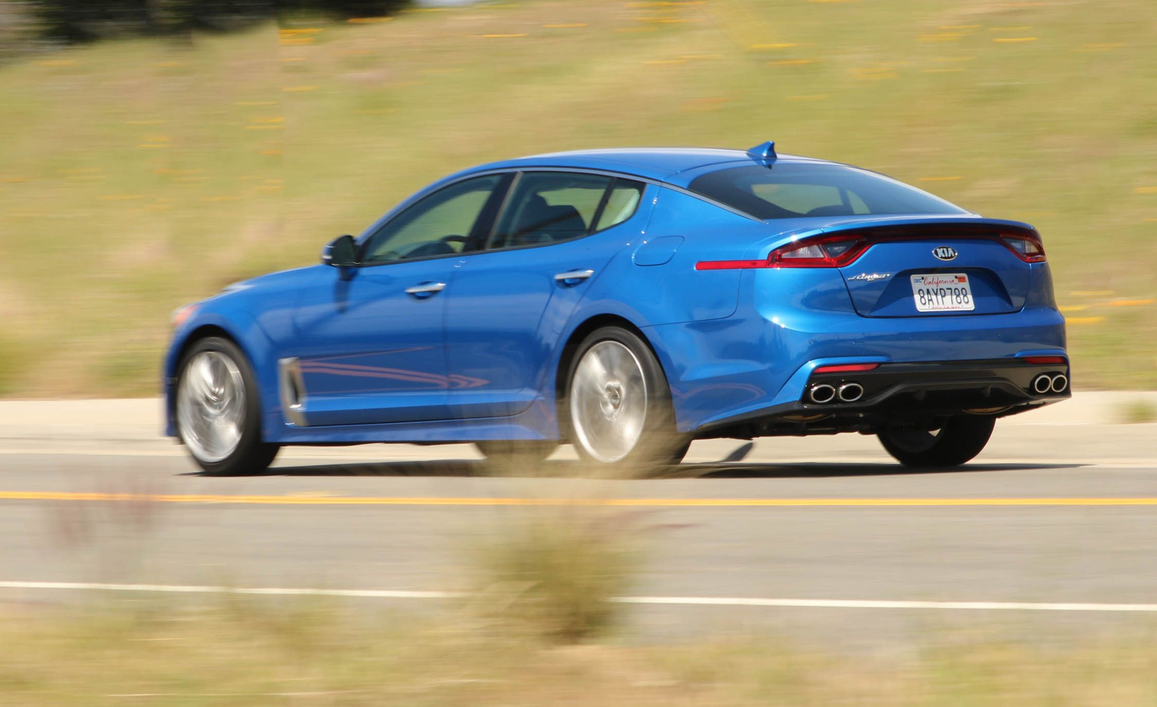 2018 Kia Stinger 2 0t Rwd Test The Korean Mustang News Car And