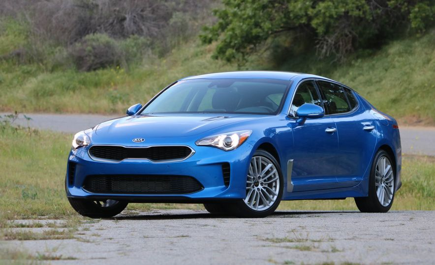2018 Kia Stinger - Slide 17