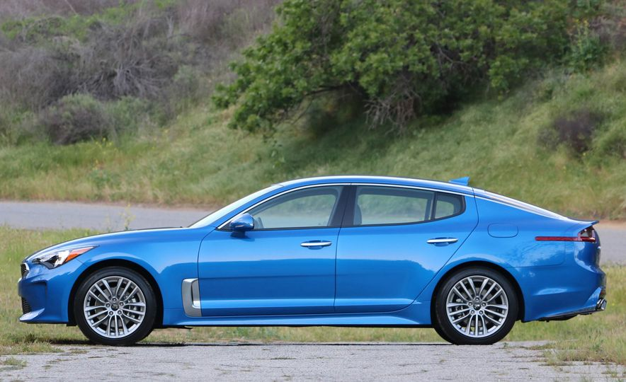 2018 Kia Stinger - Slide 18