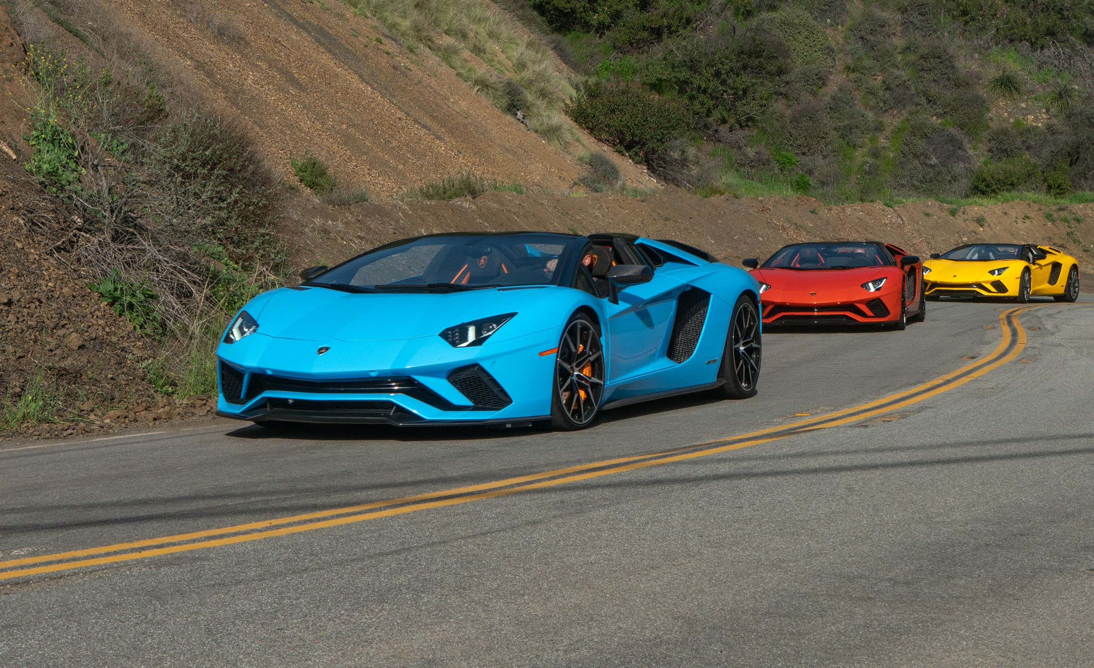 2018 Lamborghini Aventador S Roadster Driven You Can Run But You Can T Hide Review Car And