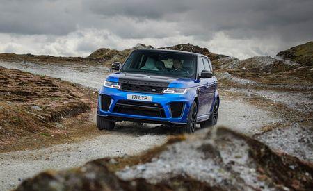 2018 Land Rover Range Rover Sport Supercharged / SVR
